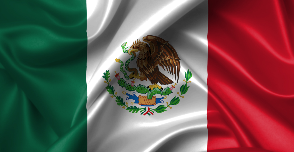 waving mexican flag photos download