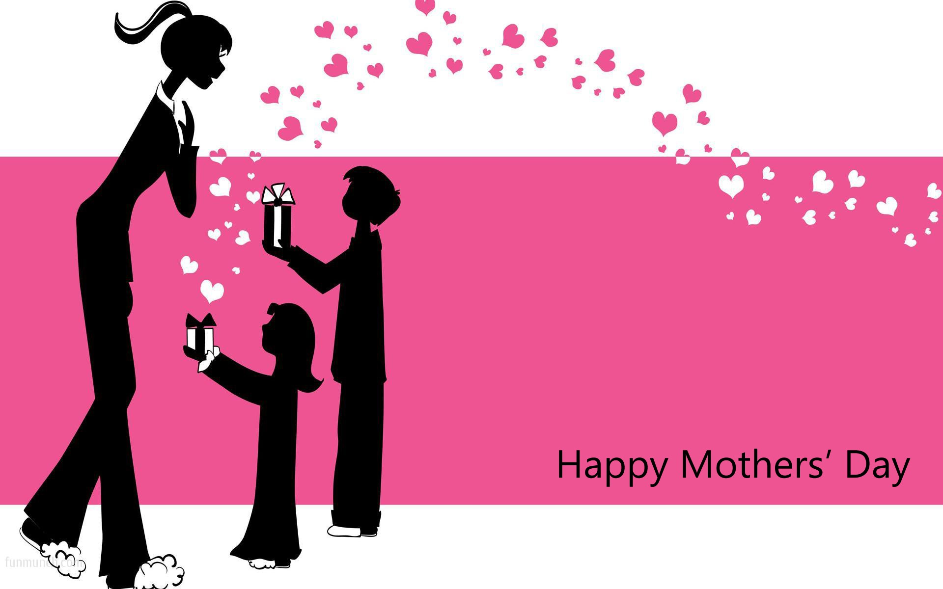 love mom animated hd mothers day wallpaper