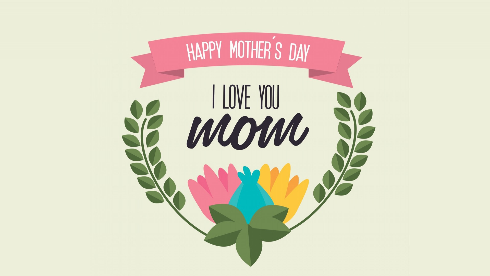 widescreen hd love u mom greeting cards