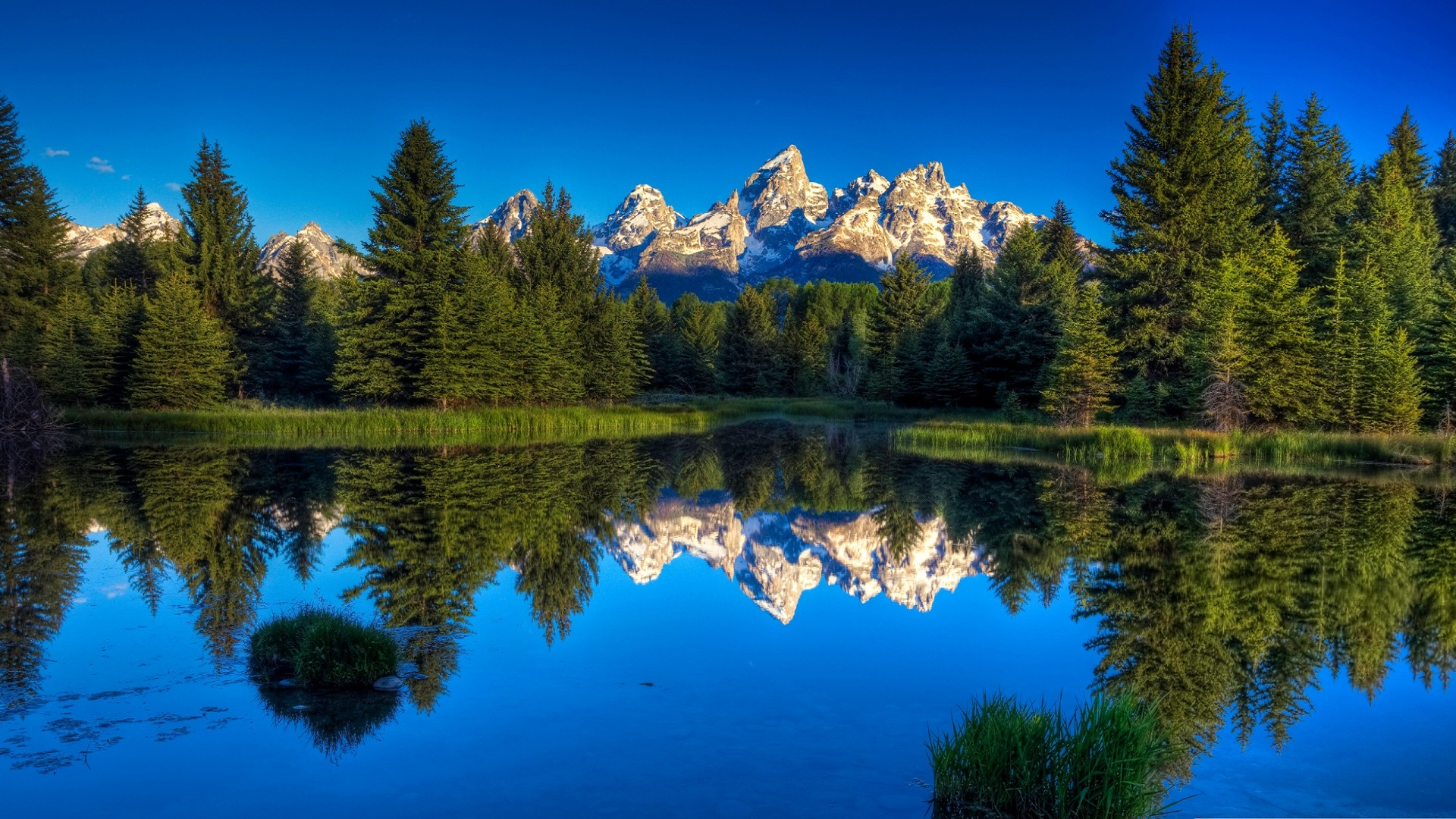 beautiful hd mountains 3d reflection best wallpaper free download