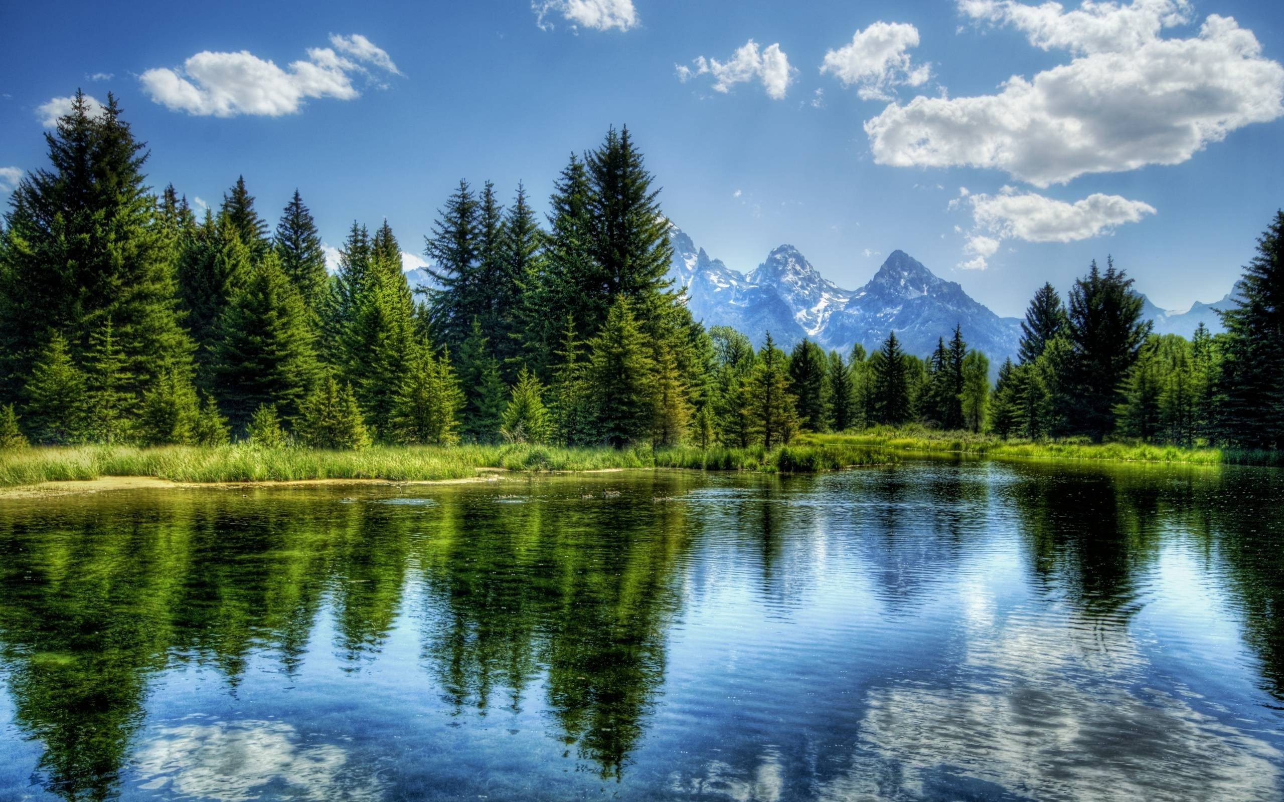 mountain lake nature hd wallpapers images desktop picture