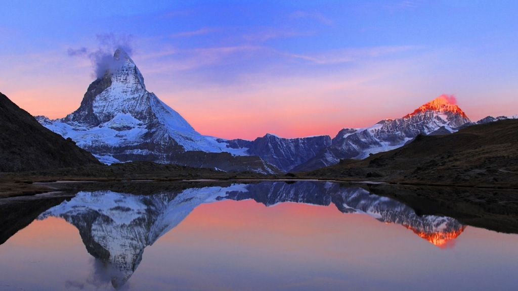 Mountain Wallpapers Sunset Hd Images Picture Photos