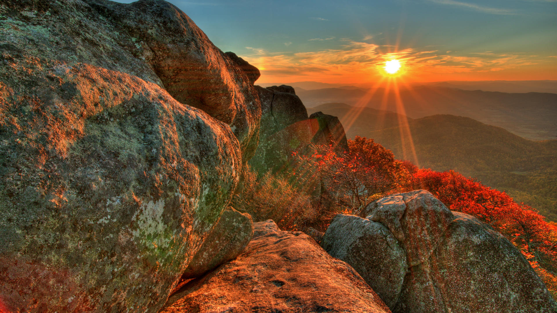 sunset desktop beautiful sunrise mountains wallpaper images picture