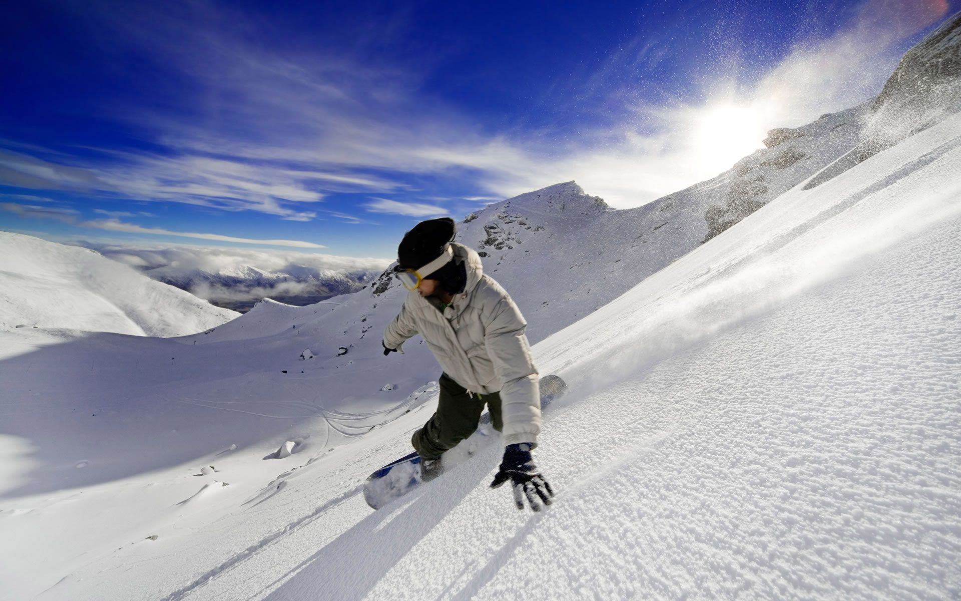 Hd Snowboarding Mountain Wallpaper Mobile Free Download