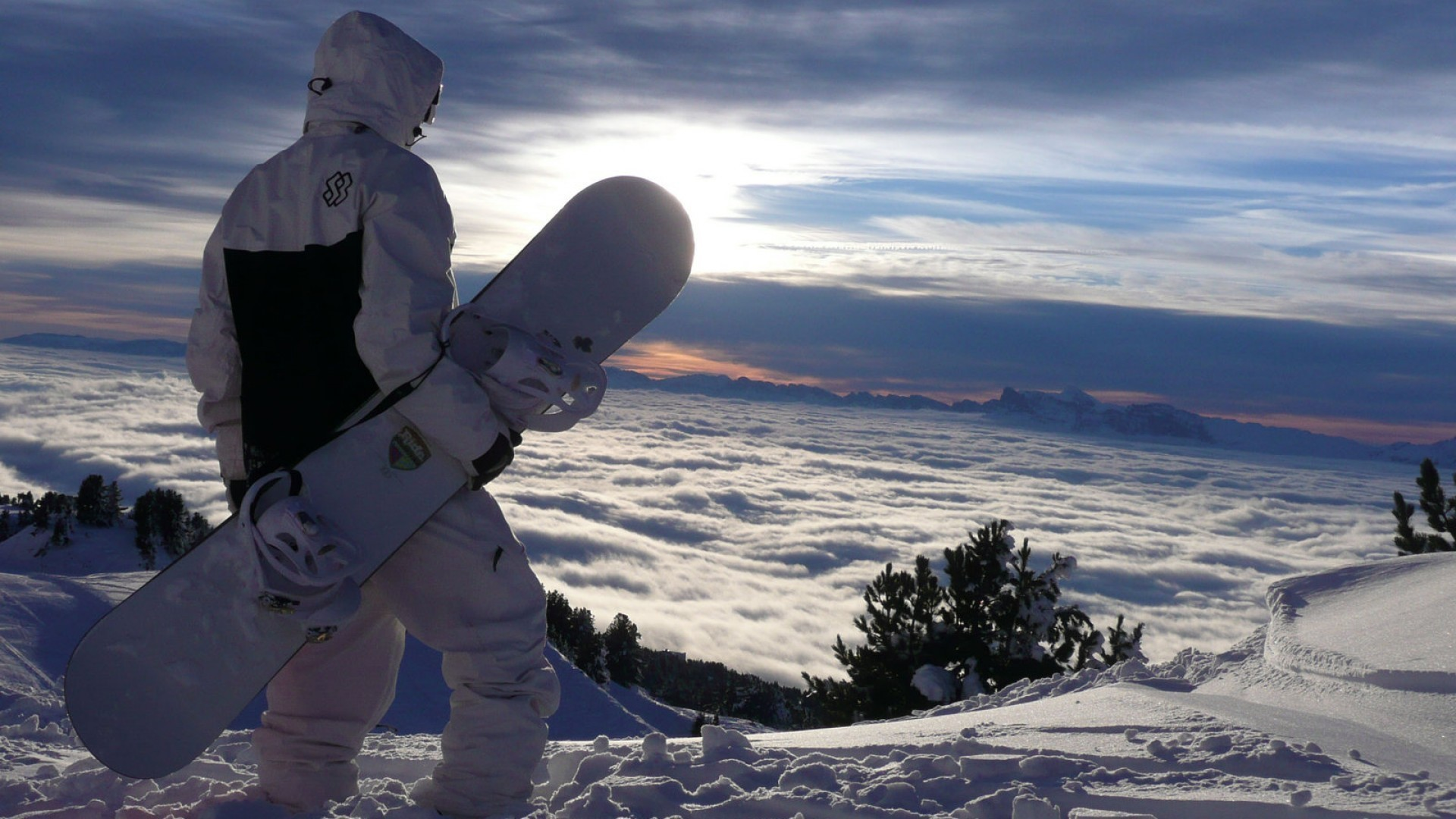hd start to man snowboarding mountain wallpapers photo