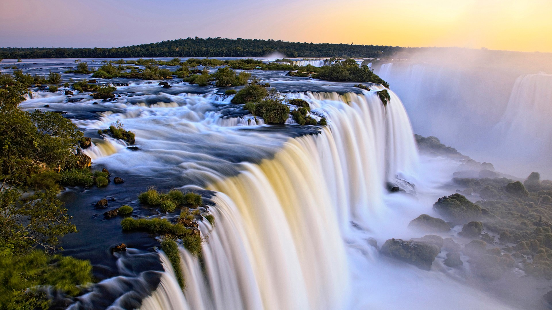 brazilian iguazu water falls wallpaper latest image free download
