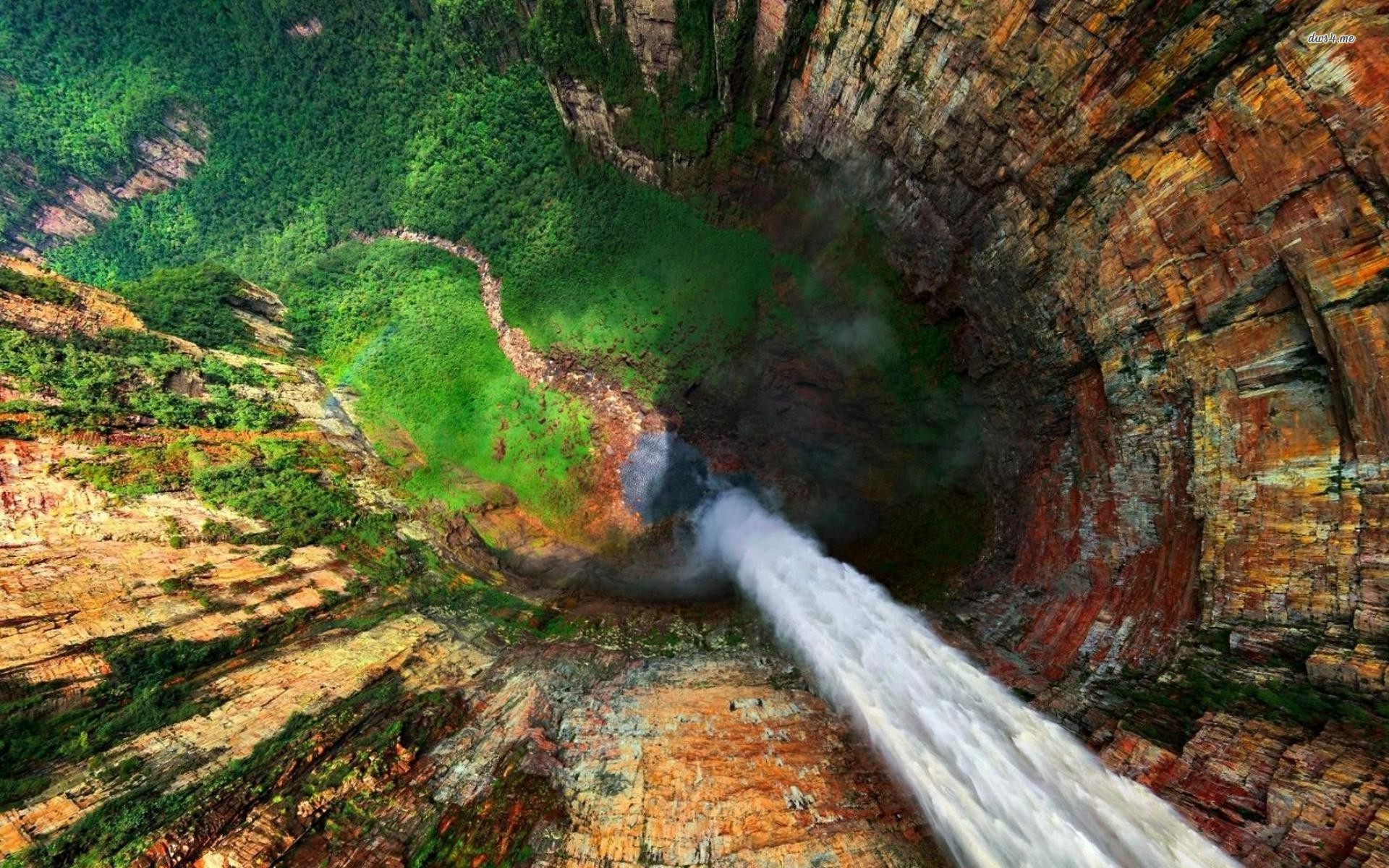 highresoultion angel falls venezuela nature wallpaper free download