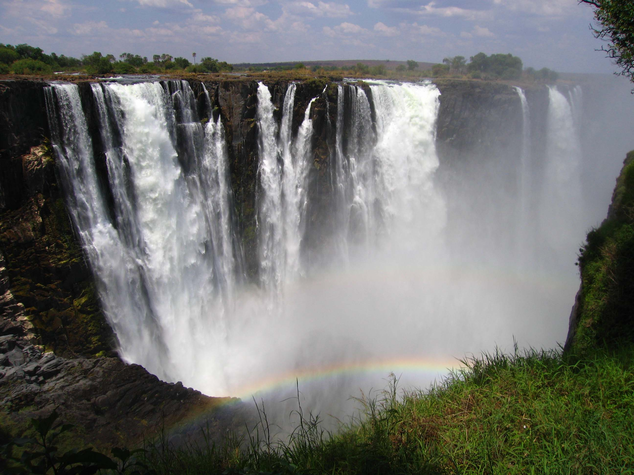 victoria falls seven natural wonders wallpaers images