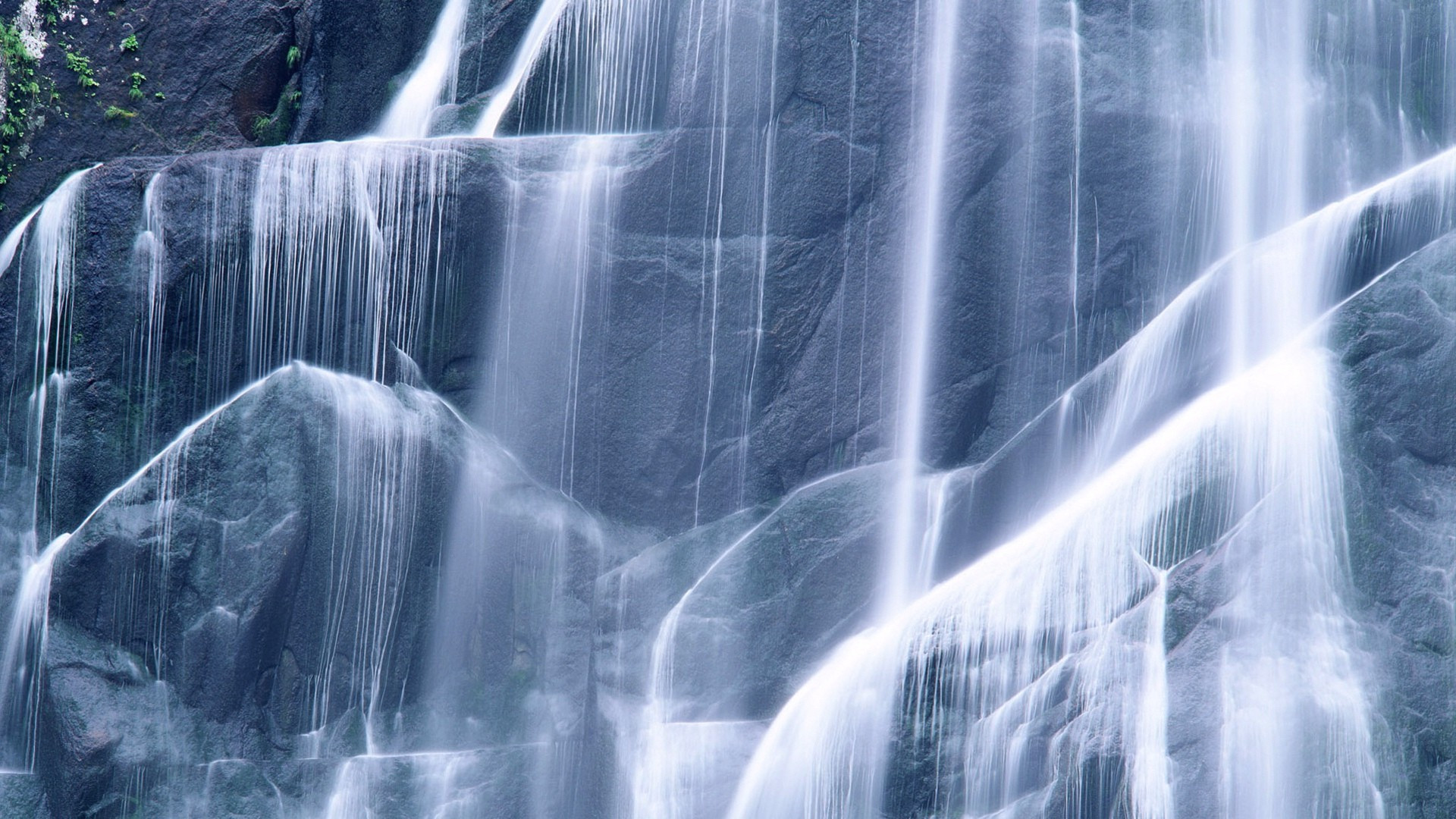 Waterfall Blue Falls High Difinition Hd Wallpaper Free Image