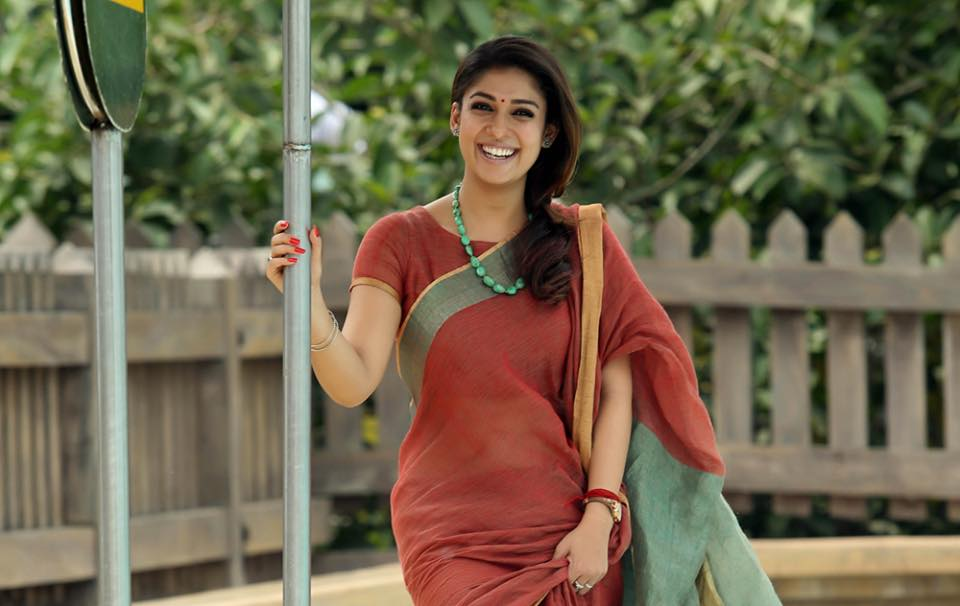 Image result for nayanthara in saree