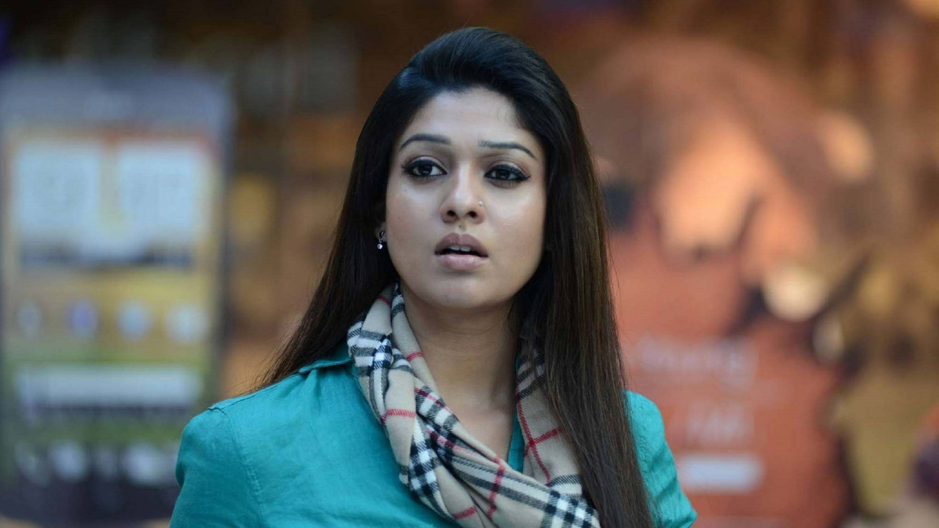 Desktop Nayanthara Shocking Look Free Background Mobile Hd Images