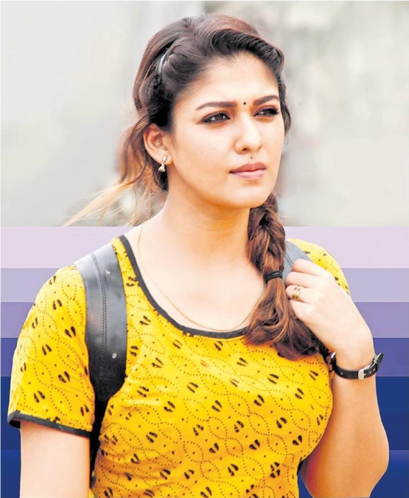 homely looking nayanthara still kolamavu kokila free background mobile image