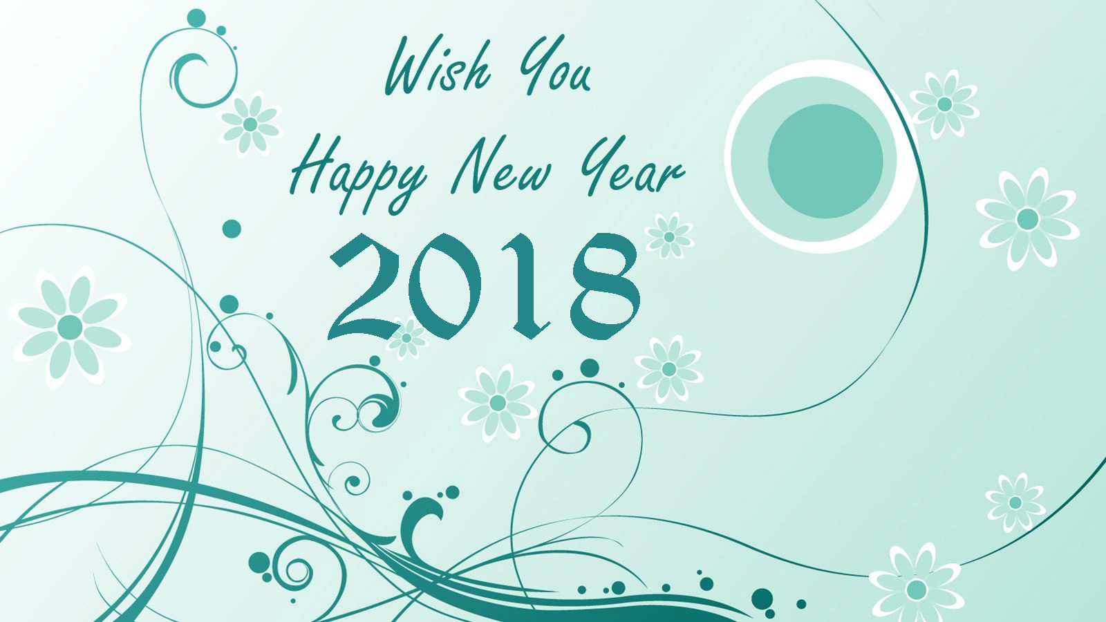 happy new year 2018 sms greeting hd wallpapers