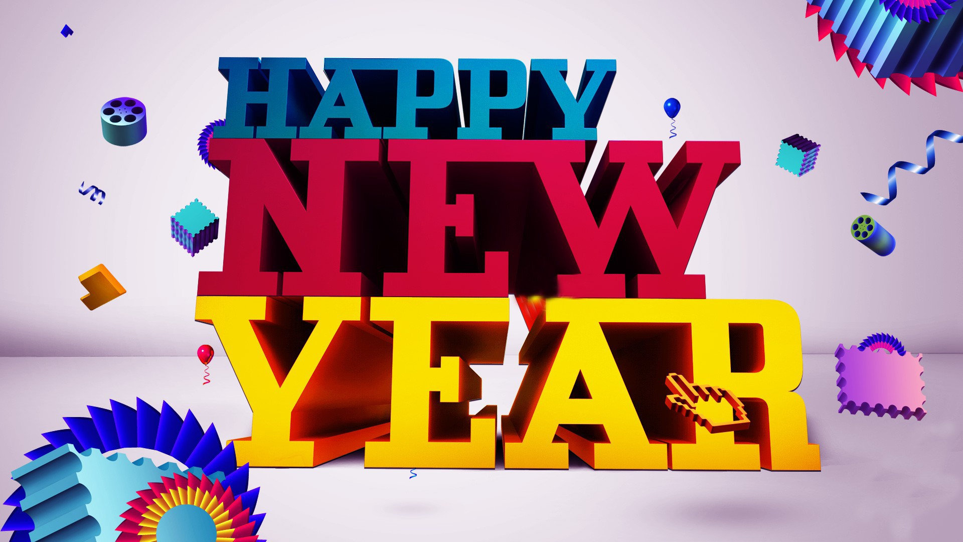 happy new year greeting recent free wallpaper download