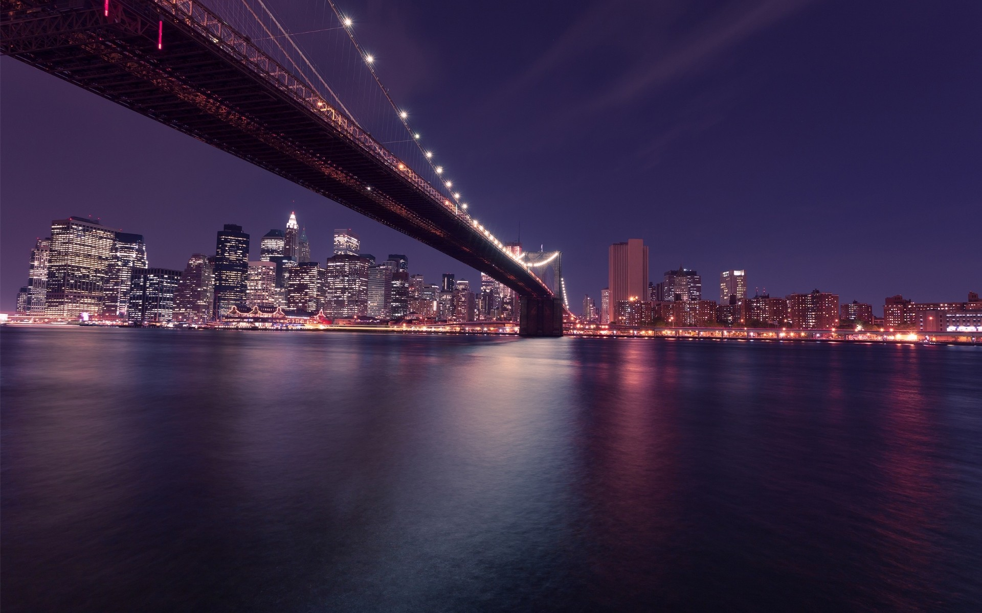 hd charming river brooklyn bridge image download