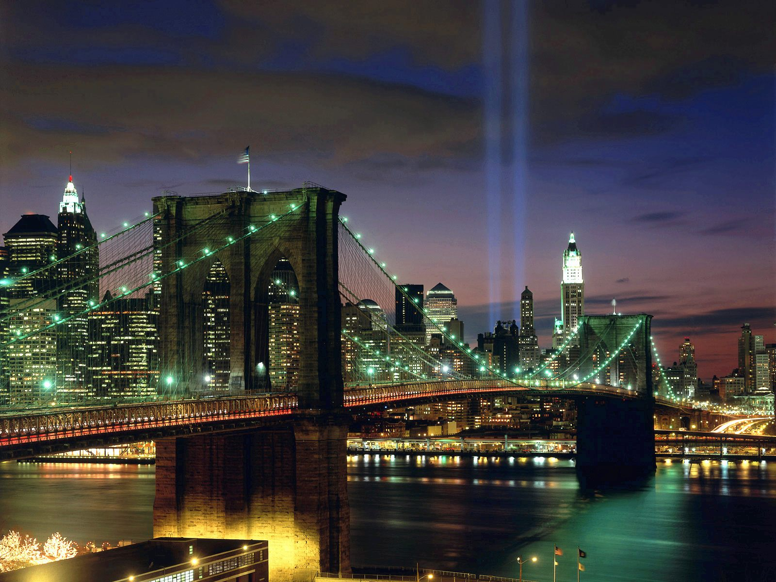 manhattan bridge new york city fantastic wallpapers download