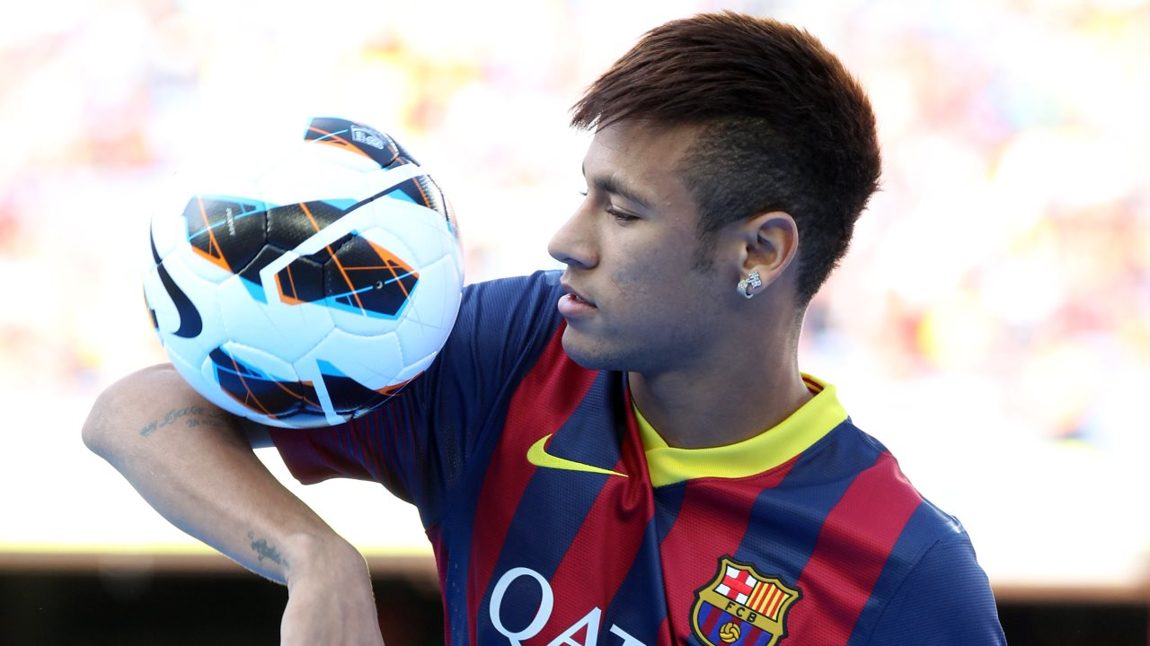 barcelona hairstyle neymar football soccer player hd mobile bakground desktop photos