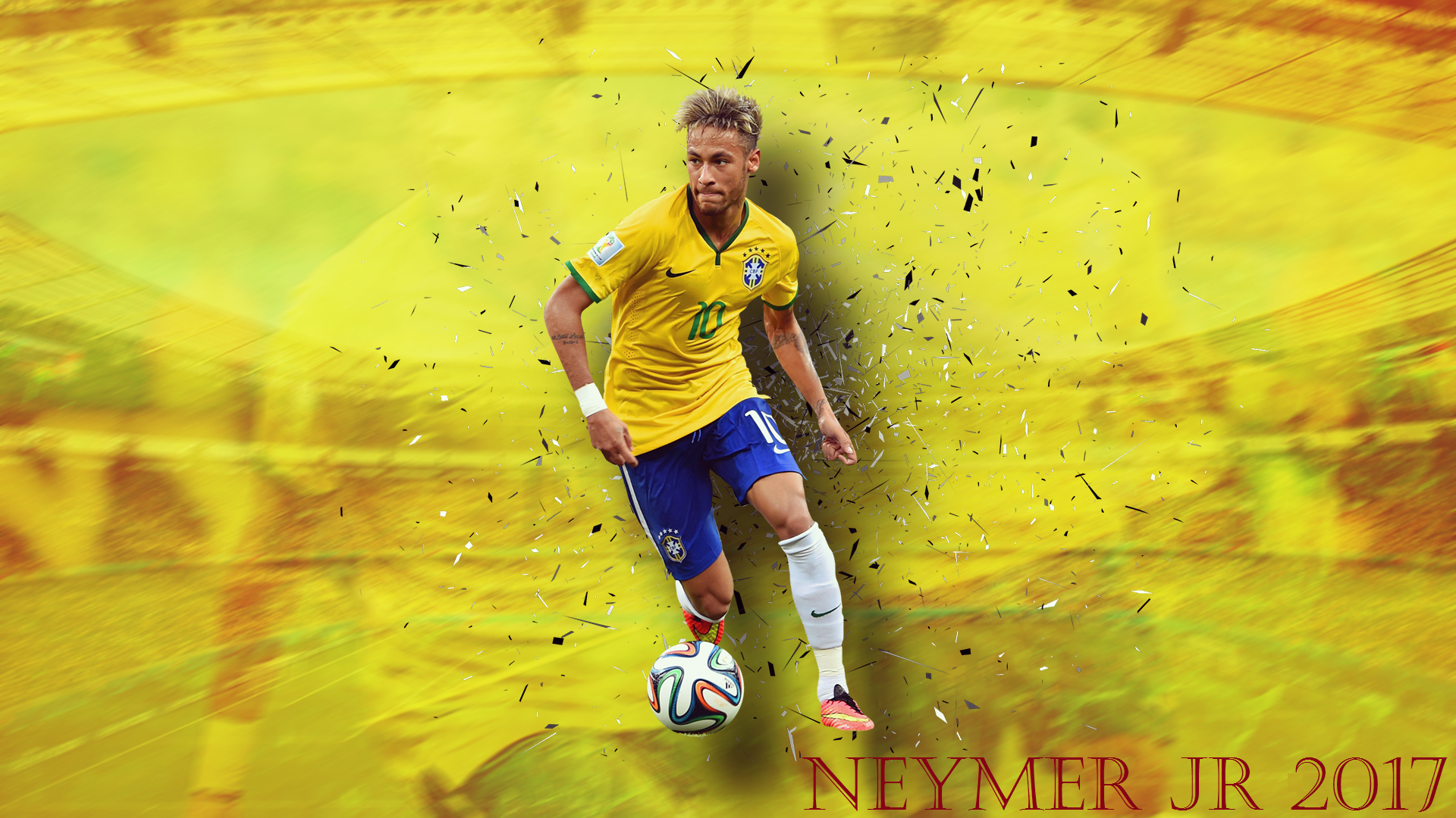 Cute Neymar Football Soccer Player Hd Free Play With Ball Mobile Bakground Desktop Pics