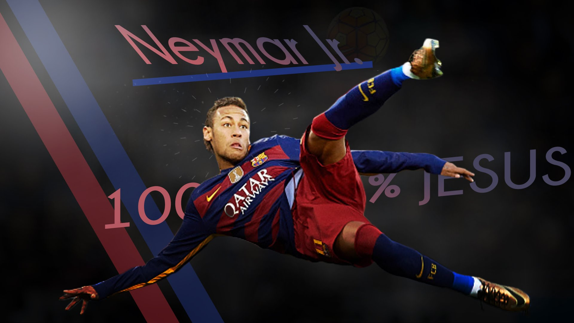 Desktop Neymar Football Soccer Player Hd Free Kick Ball In Air Mobile Bakground Download Pictures
