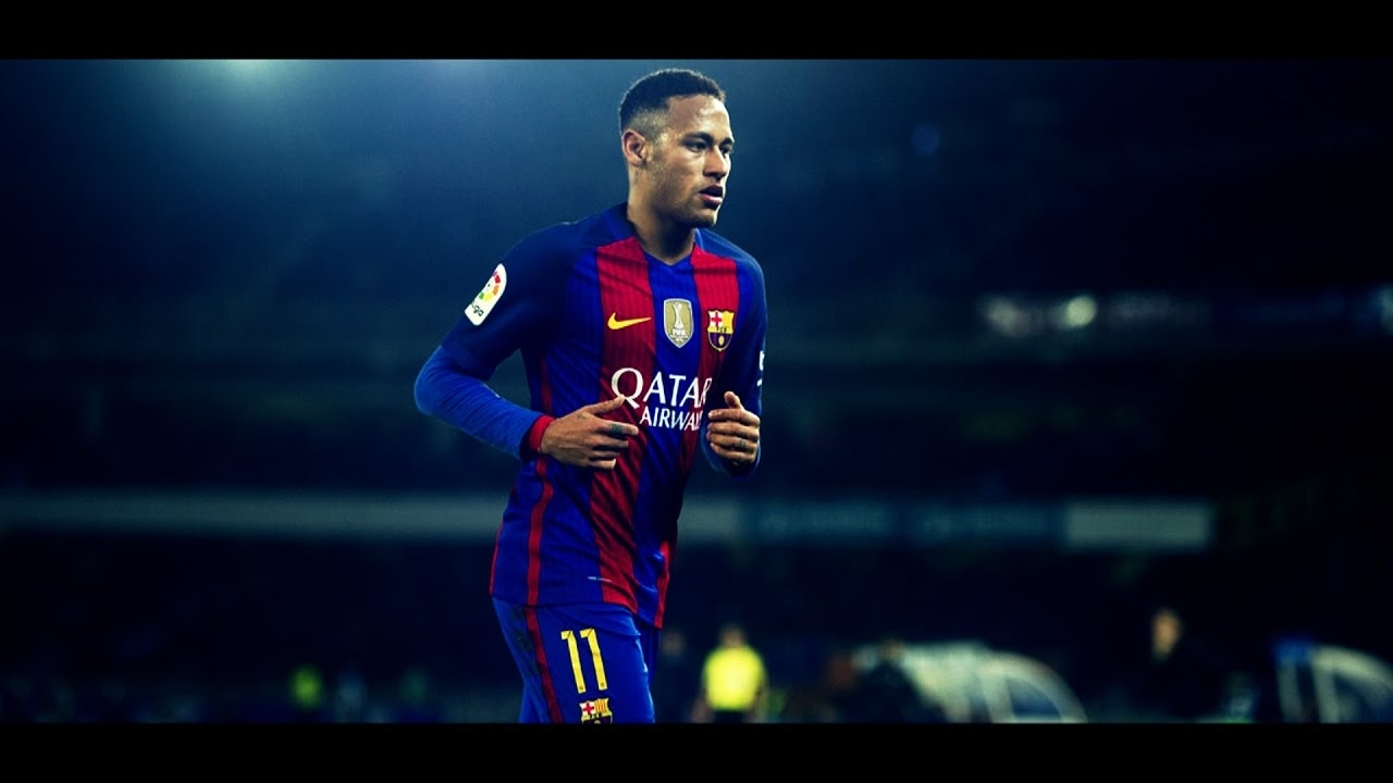hd neymar football soccer player free running in ground mobile desktop bakground download wallpaper jpg