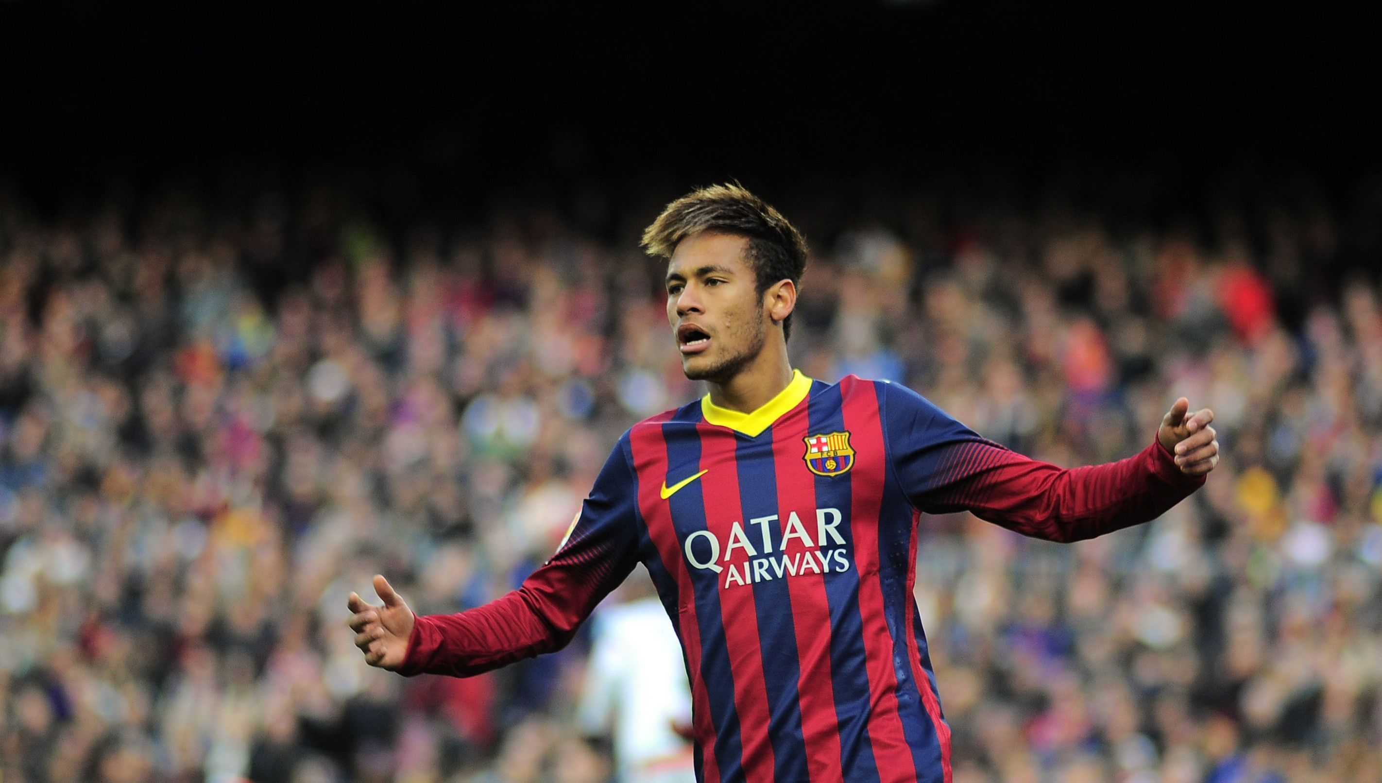 neymar football soccer player free hd ball goal enjoying mobile desktop bakground download wallpaper photos