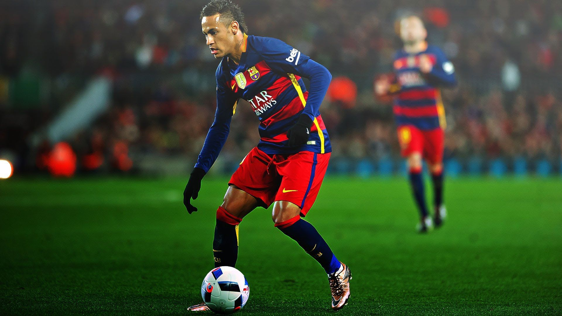 Neymar Football Soccer Player Free Hd Ball With Run Mobile Desktop Bakground Download Wallpaper Photos