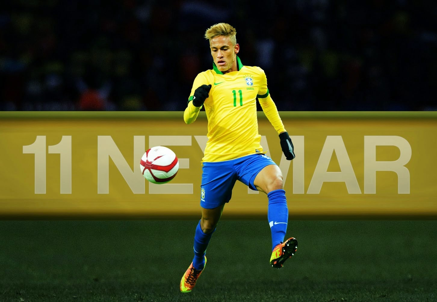 Neymar Football Soccer Player Hd Free Kick Ball To Goal Mobile Desktop Bakground Download Photos