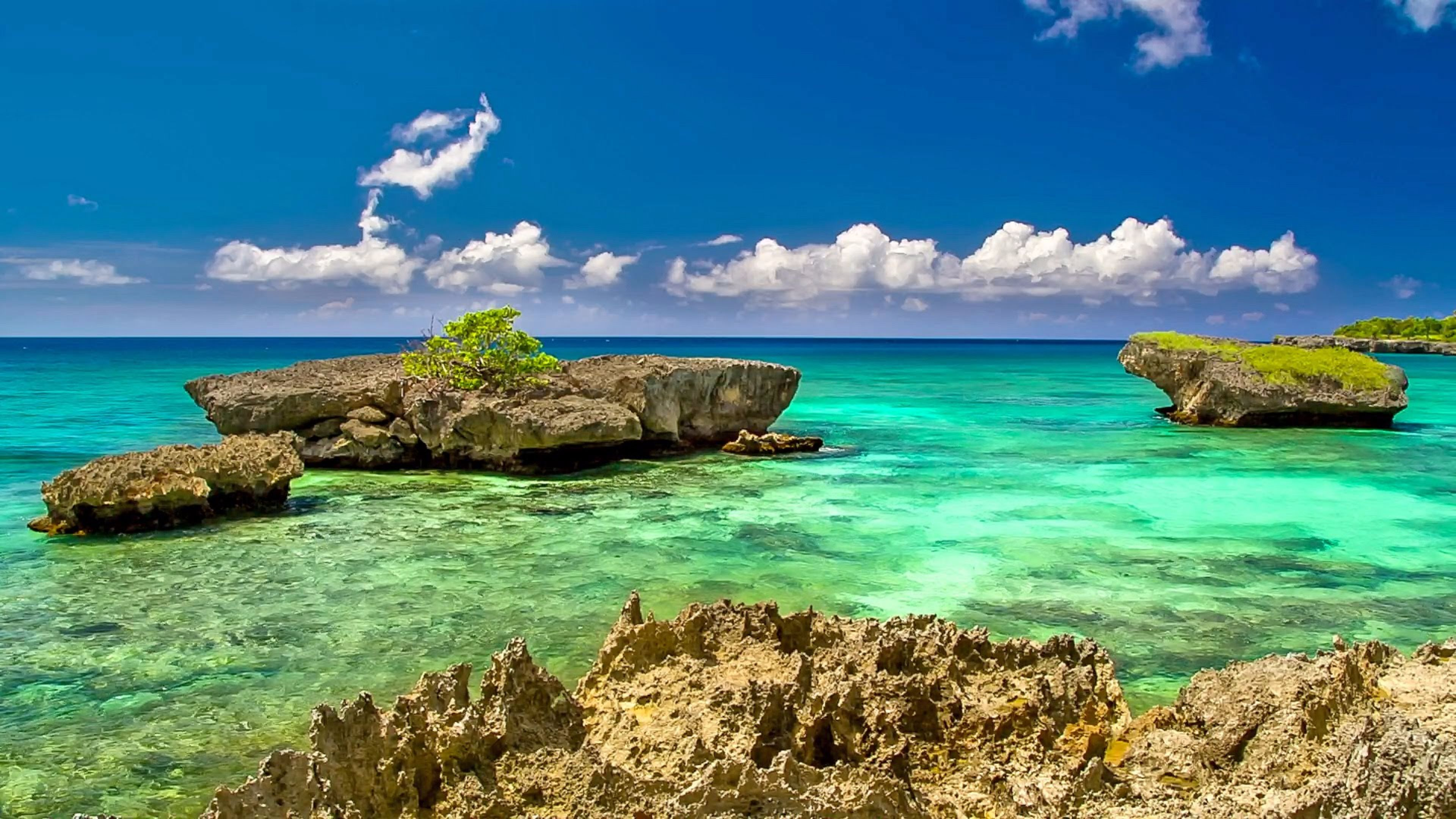 caribbean sea wonderful wallpapers desktop background