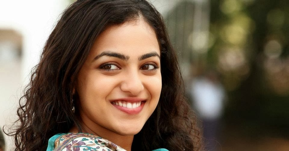 stunning nithya menon smiling face hd background desktop free mobile pictures