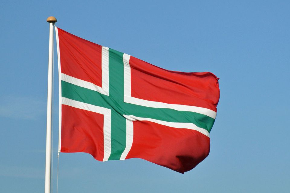 download hd waving awesome norway flags image