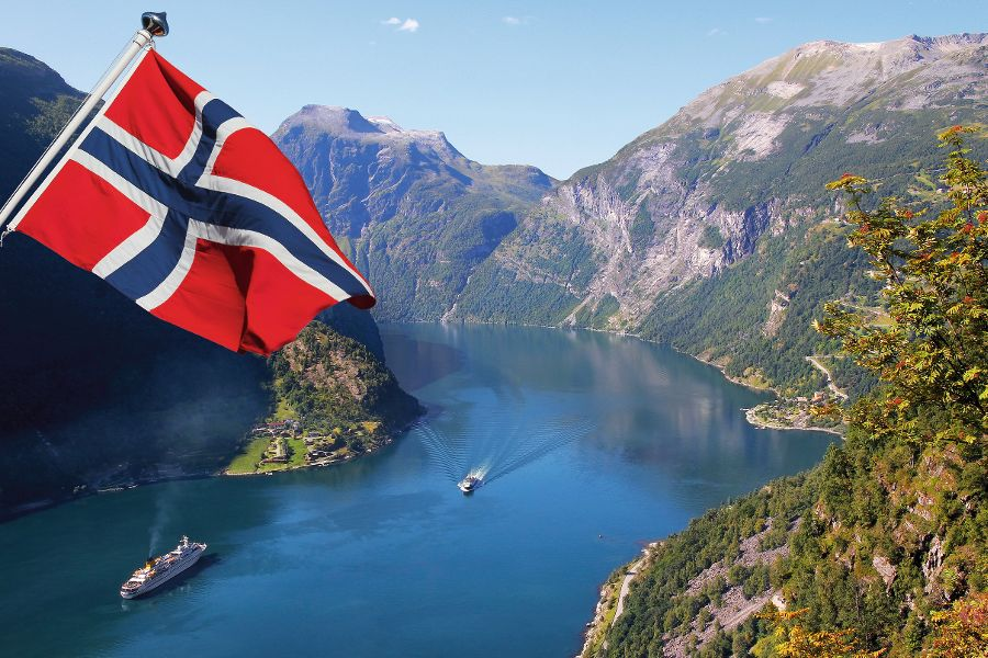 norway flag pictures smart phone