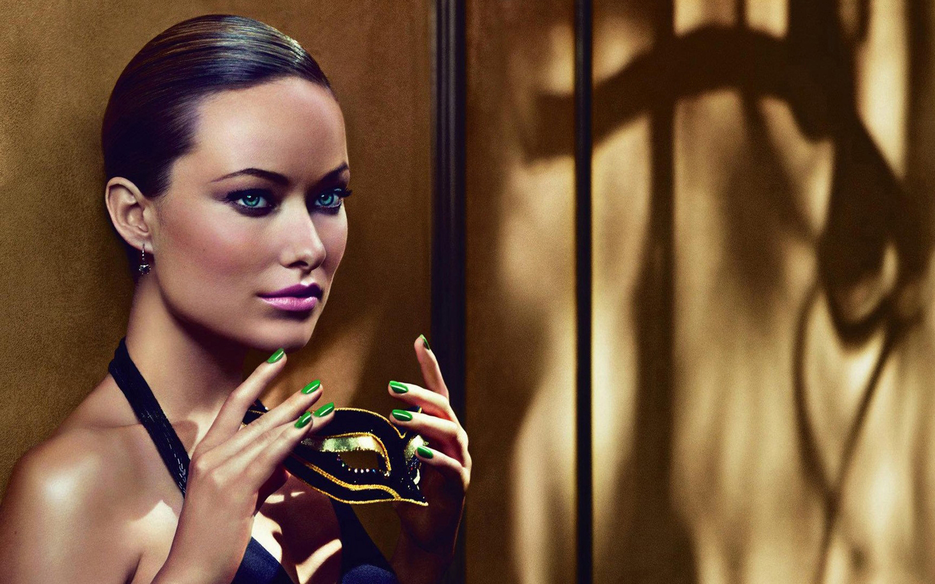 olivia wilde face photo widescreen background desktop cute look