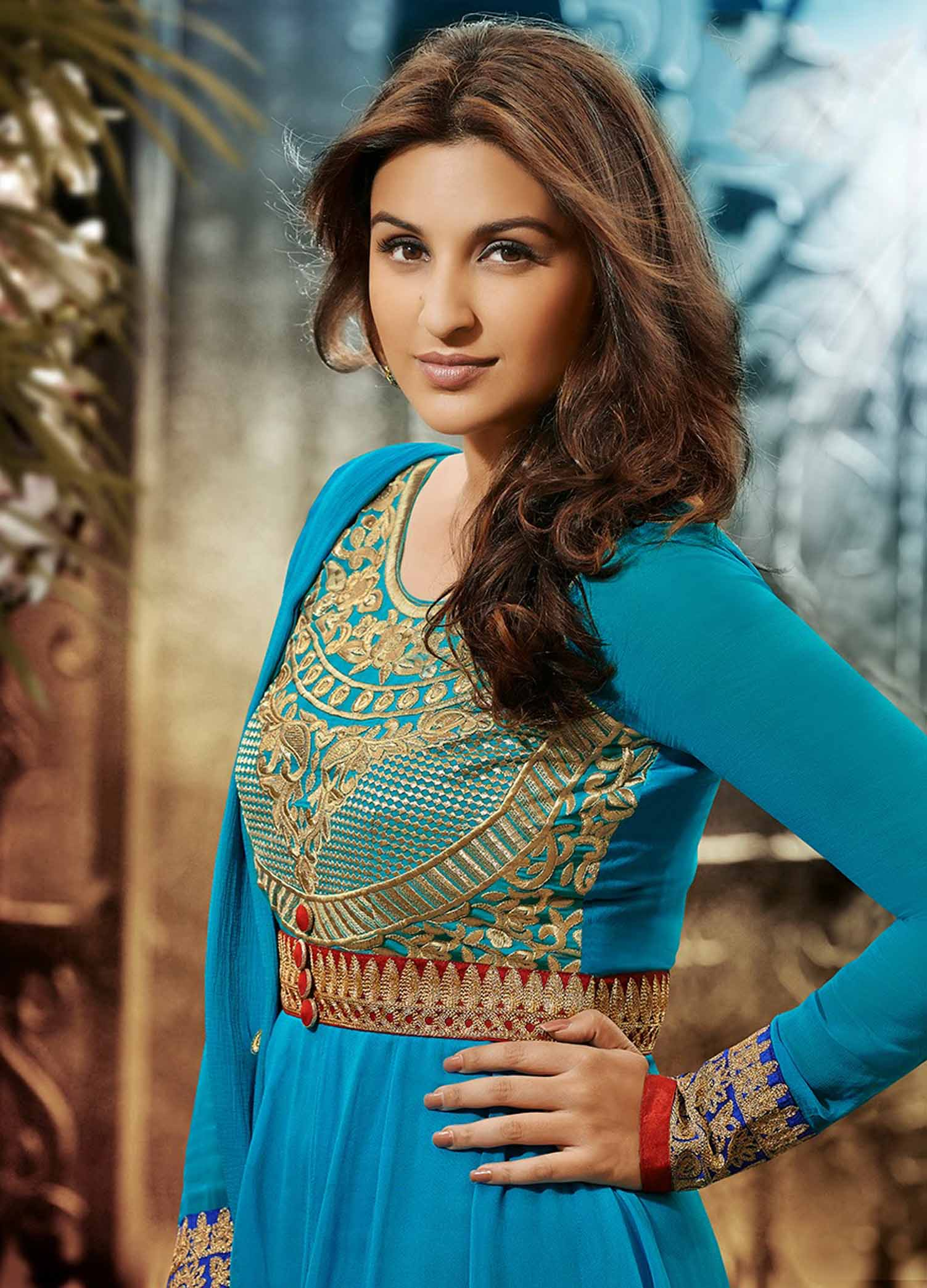 Amazing Parineeti Chopra Beautiful Look Mobile Hd Background Free Download Images