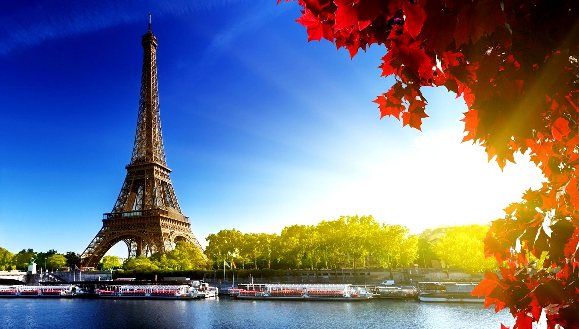 download free mind blowing summer paris river picture for mobile