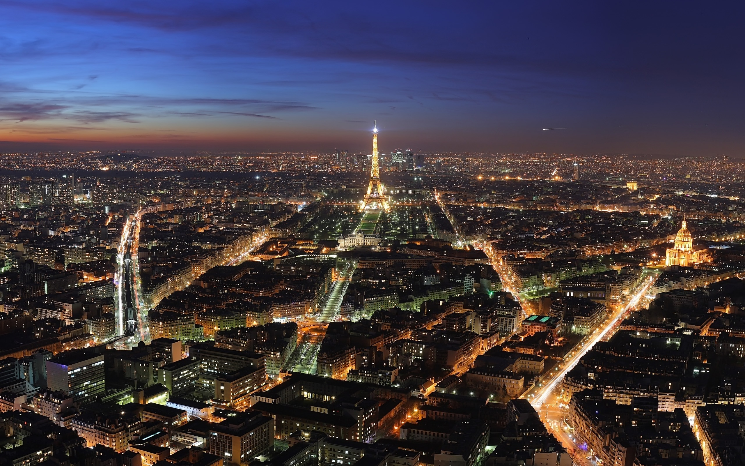 free desktop hd charming paris city night lighting wallpapers