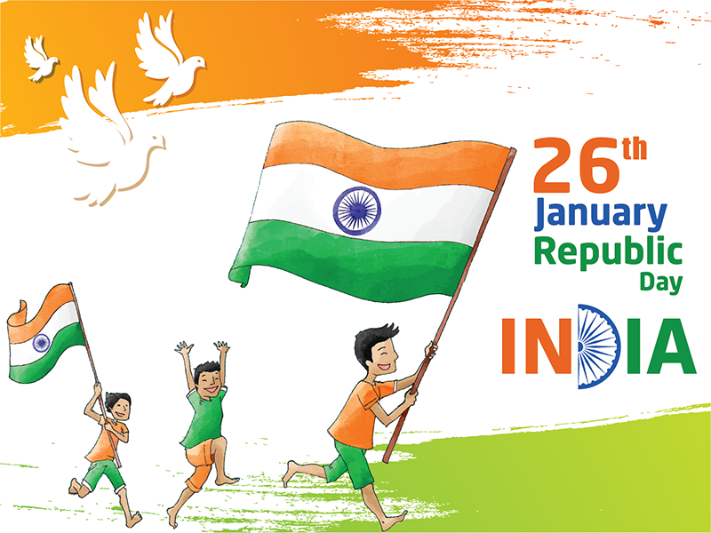 26 jan happy republic day msg free images