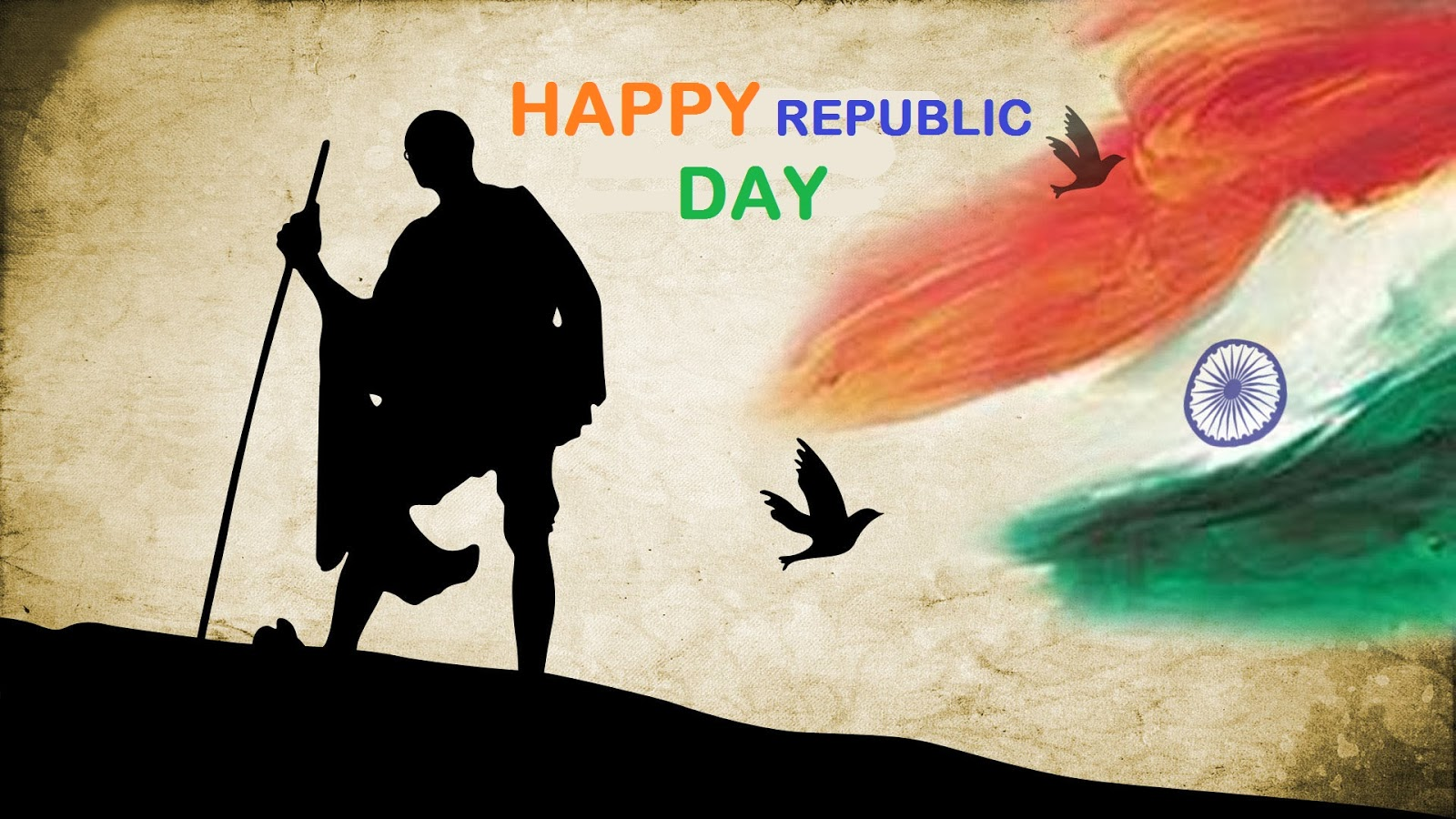 gandhiji father of nation happy republic day hd wallpapers