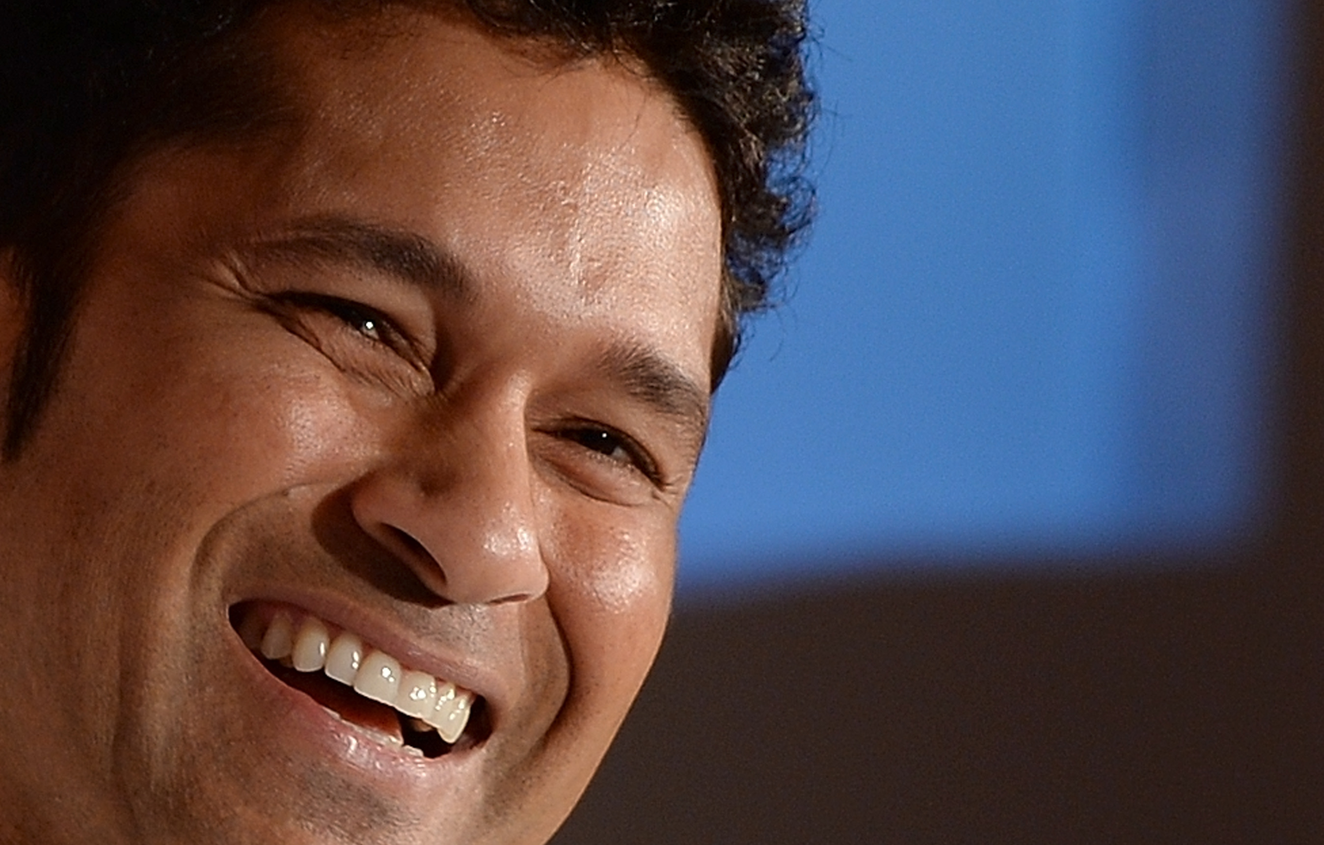 lovely sachin tendulkar beautiful smile face still hd background