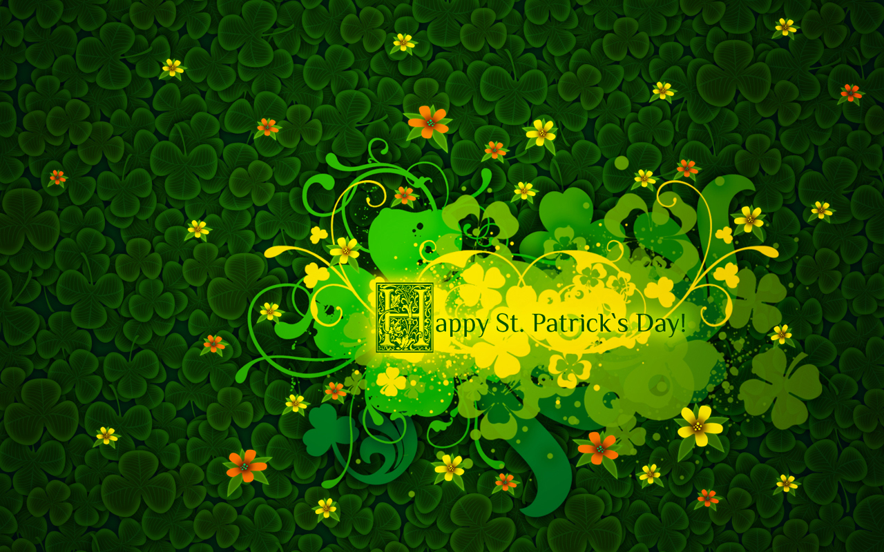 happy st patrics day amazing greeting cards free download