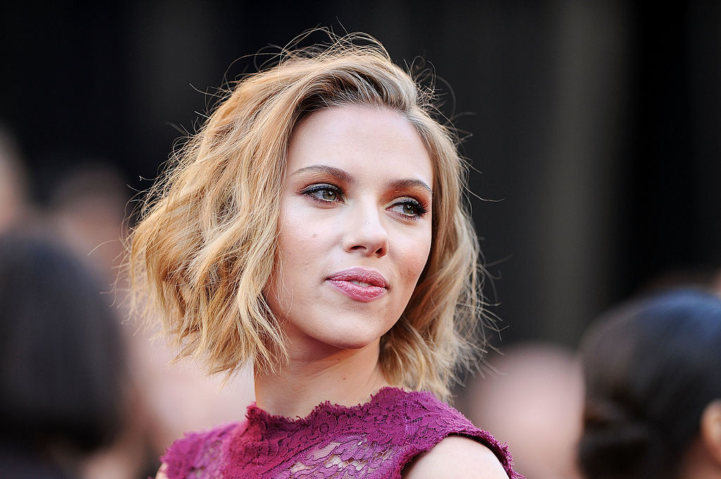 hd scarlett johansson beauty style look free laptop download wallpaper
