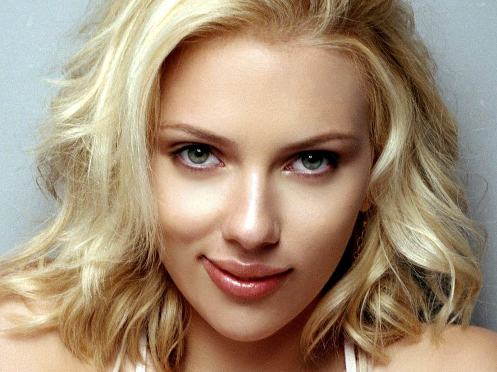 wonderful scarlett johansson beauty face look free background hd desktop pictures