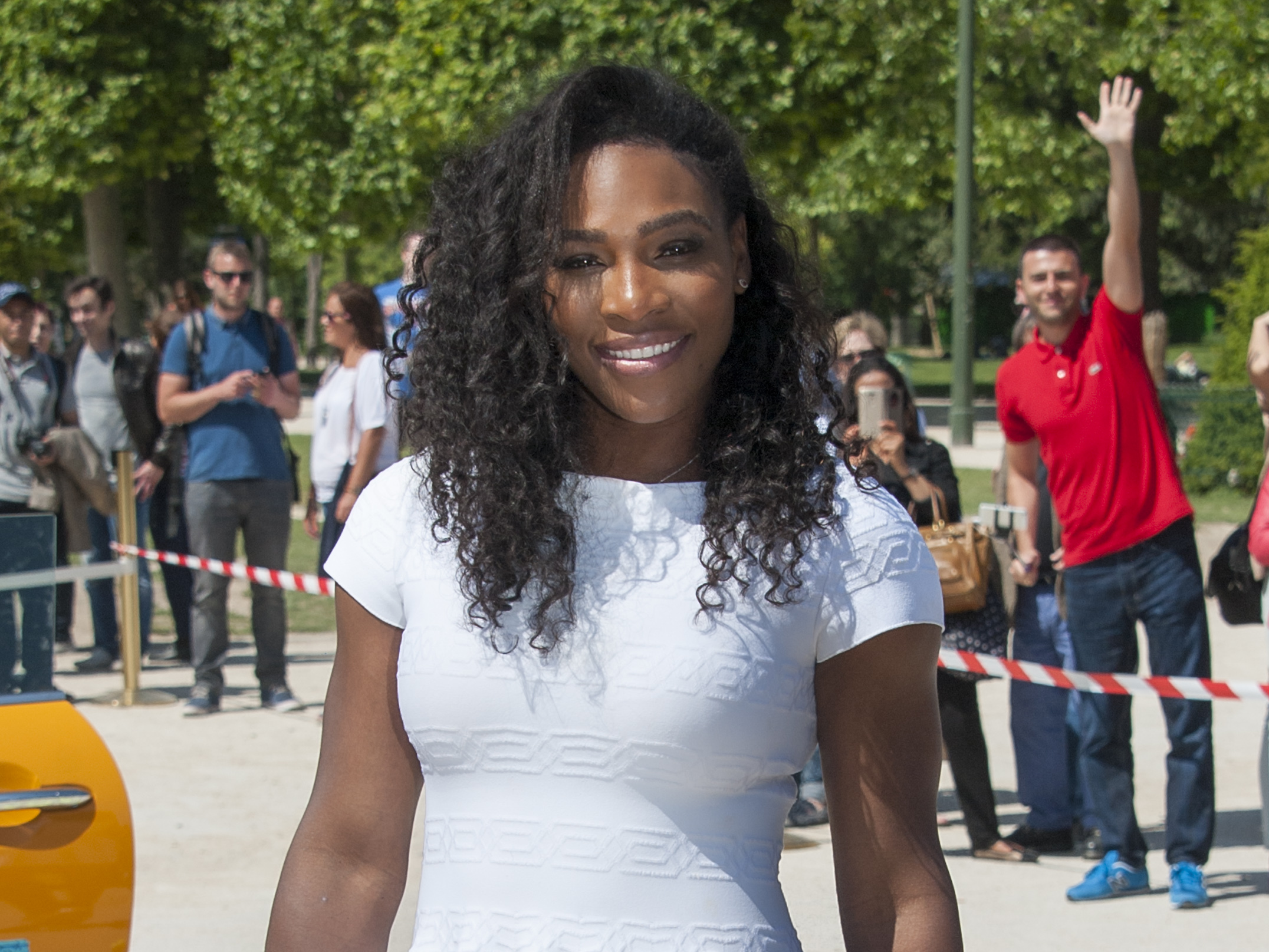 beautiful serena williams smile face hd mobile desktop background free wallpaper