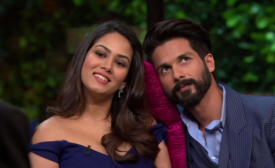 Mira Rajput And Shahid Kapoor Pleasant Pictures Free Download
