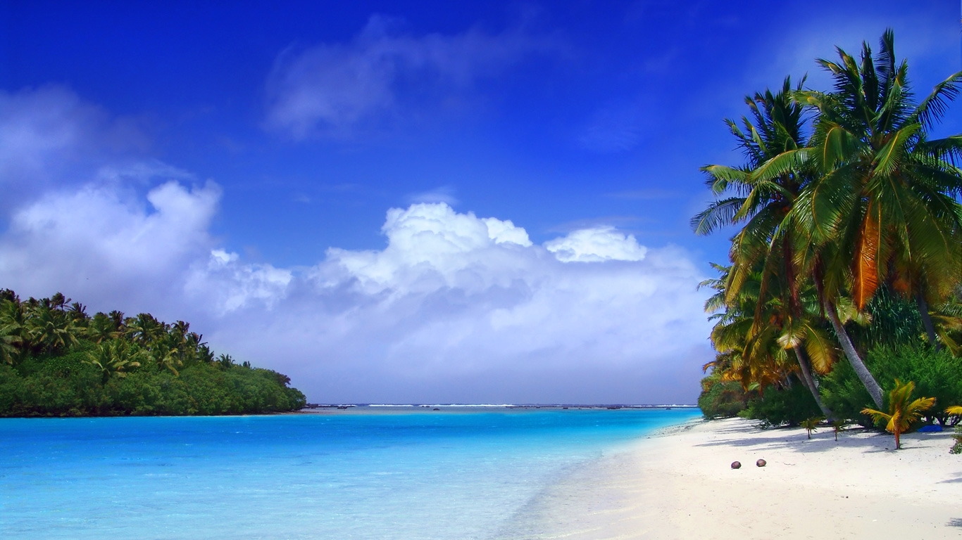 Eyes Coverable Island Hd Wallpaper Picturedownload