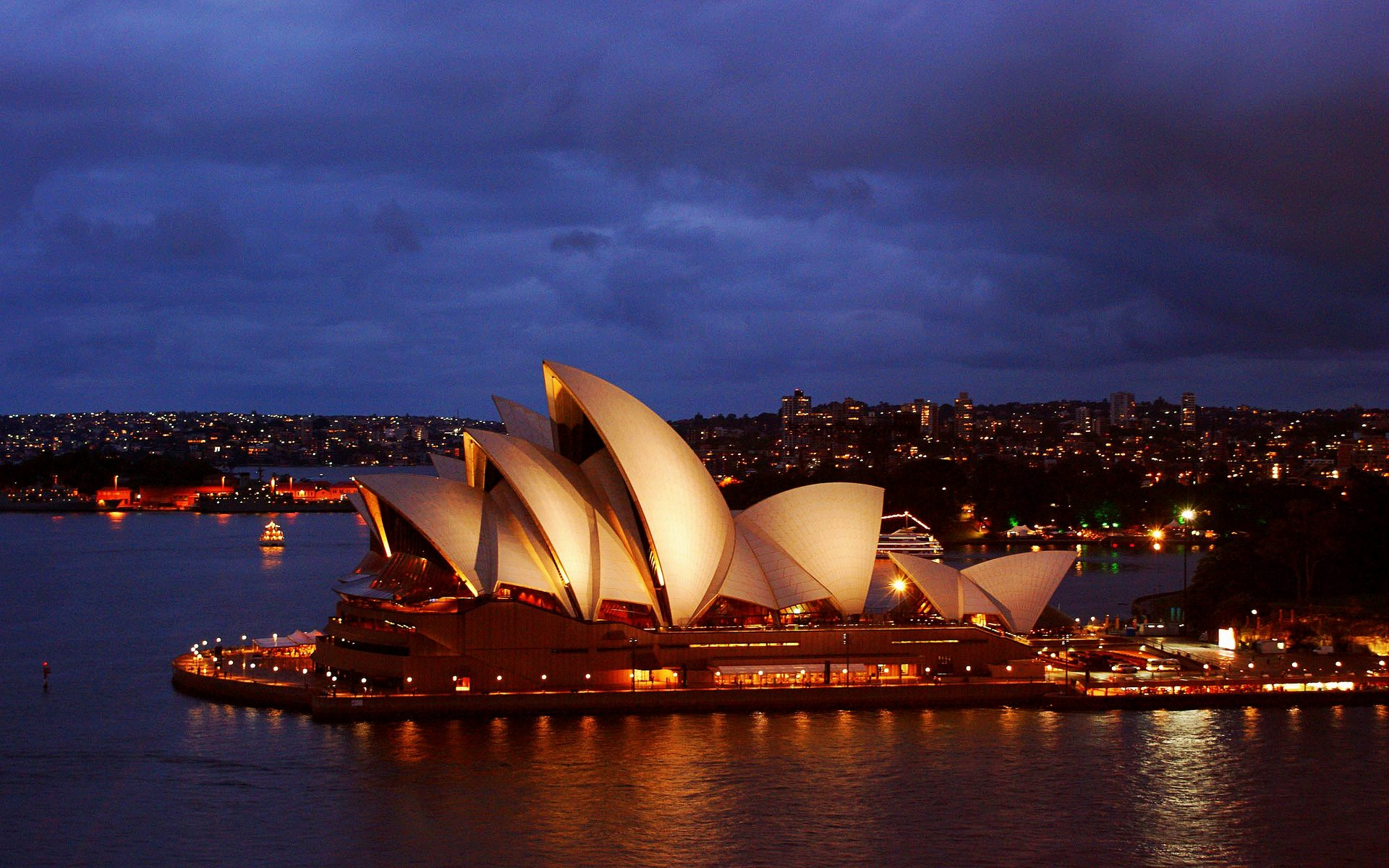 dazzling city sydney opera house with golden light nice looking wallpapers for tablet high quality picture download