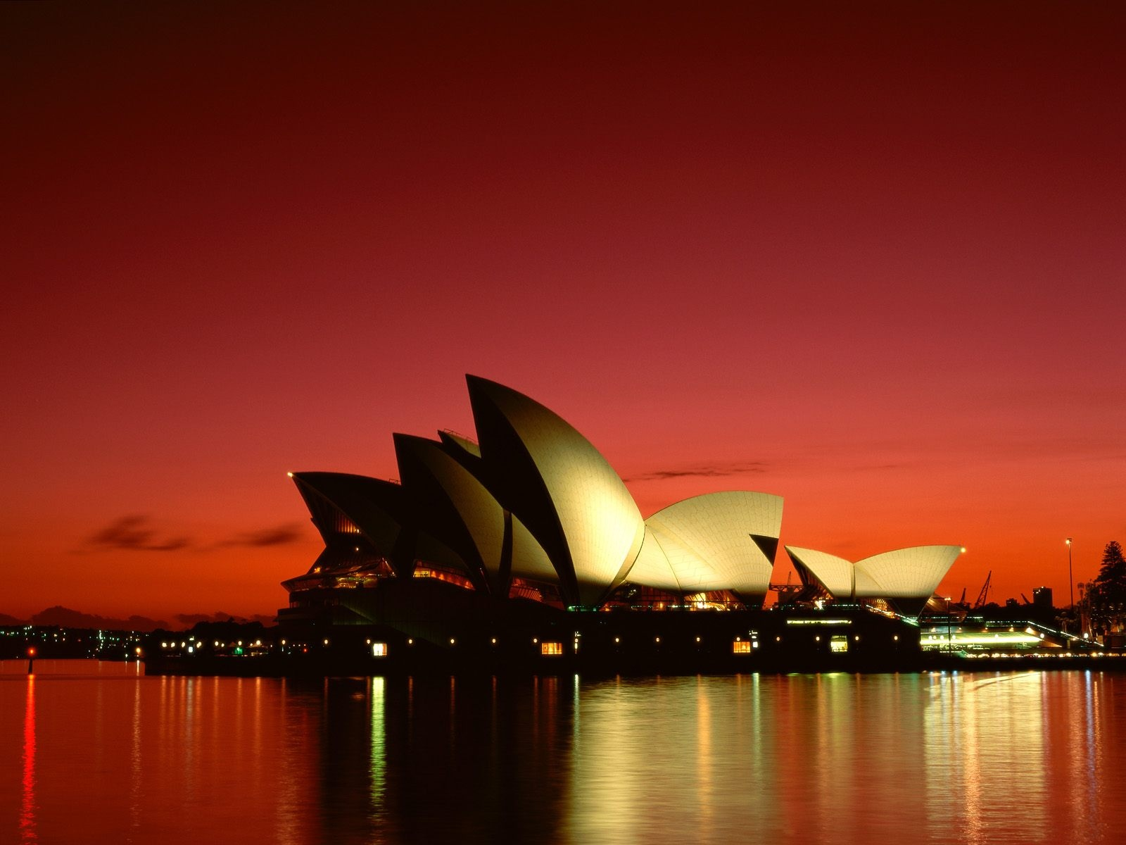 lovely sunset on opera house sydney amazing wallpapers backgrounds computer pc free pics hd download