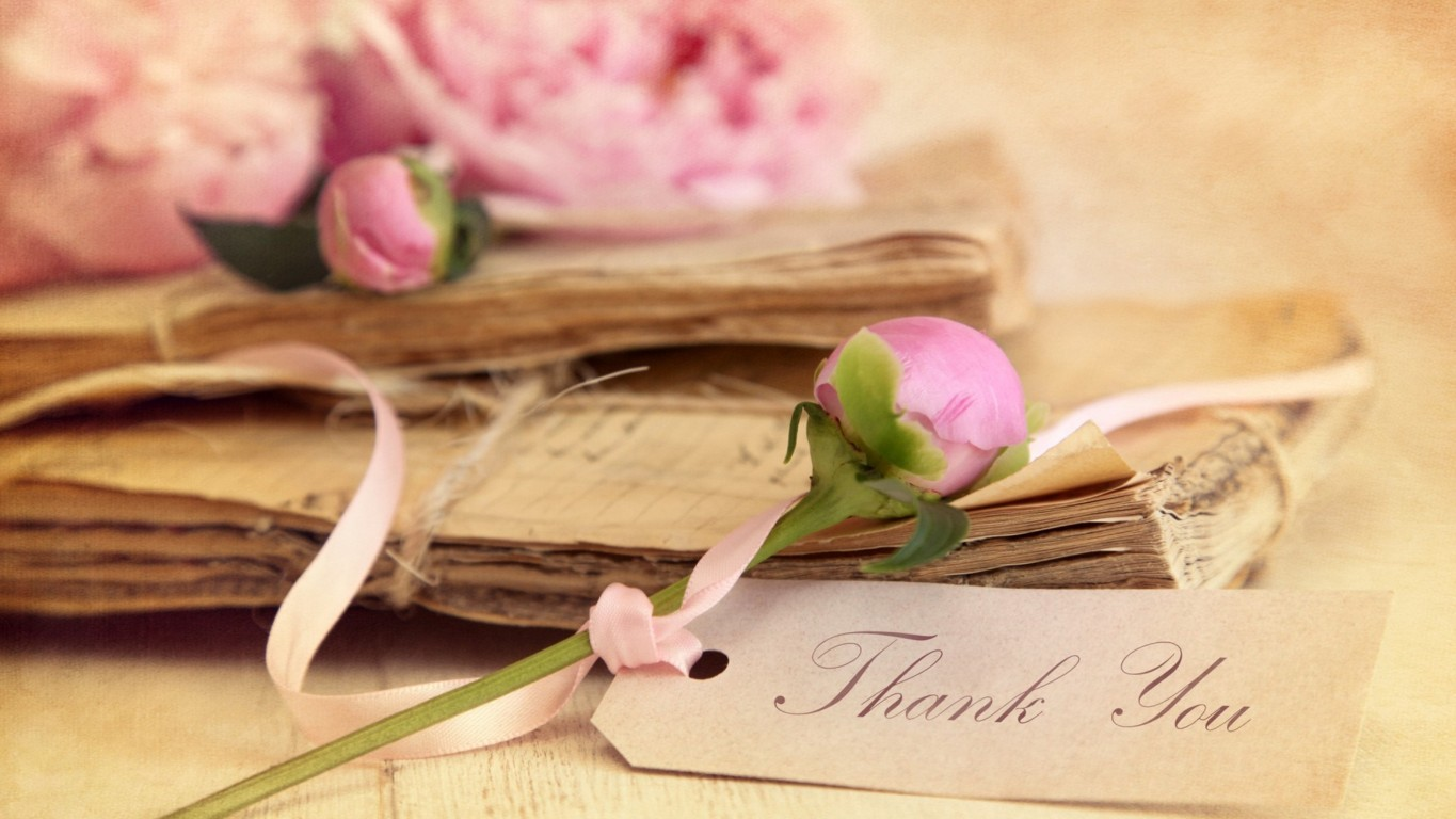 Thank You Vintage Wallpaper Free Images