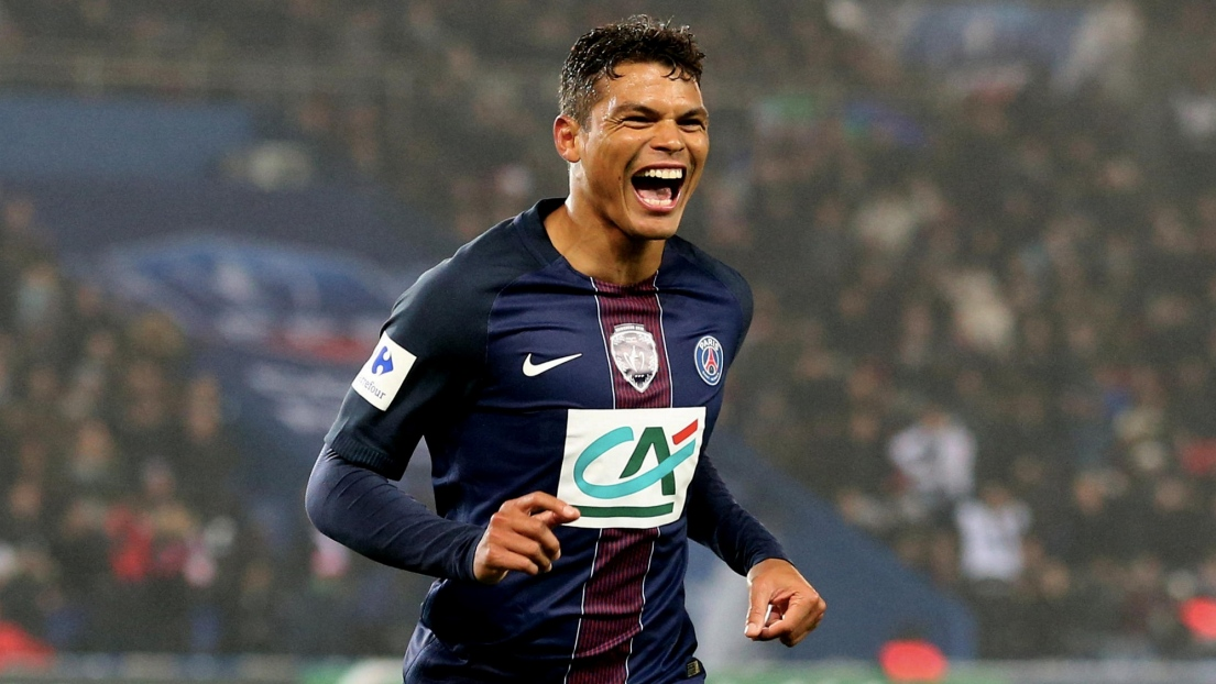 Desktop Thiago Silva Football Soccer Player After Goal Mobile Background Download Hd Free Wallpapers