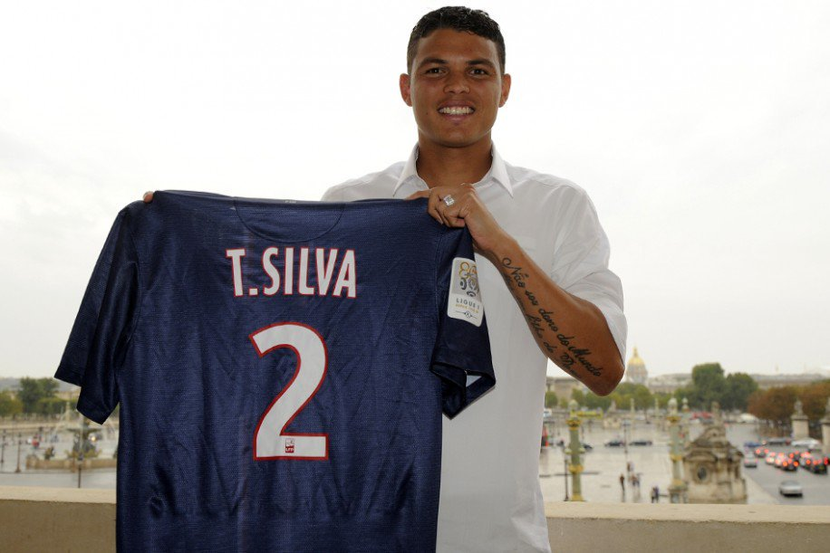 Thiago Silva Football Soccer Player Hd Free Show Jercy Mobile Desktop Background Download Wallpaper Pics