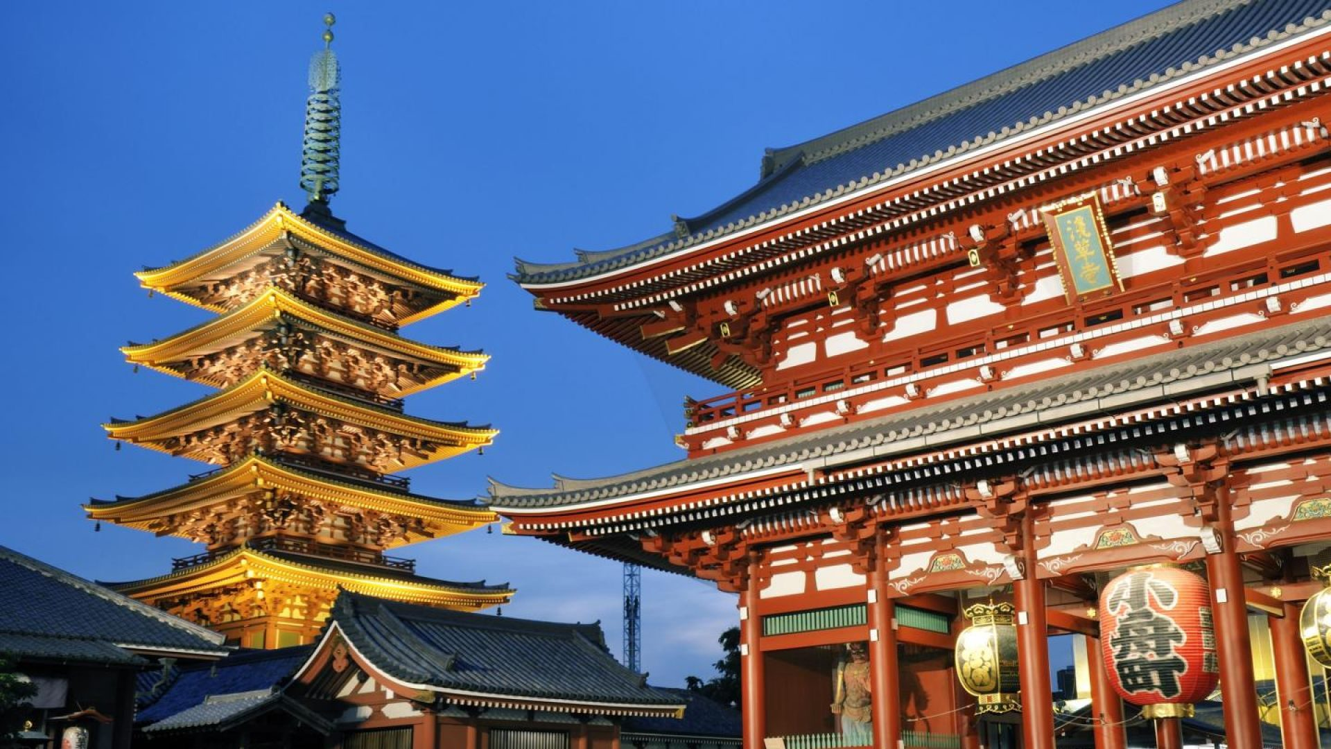 templo asakusa tokyo latest hd pictures